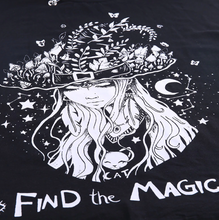 Load image into Gallery viewer, Magic Oversized Gothic T-shirts