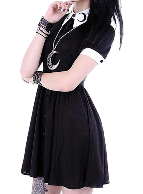 Cute Gothic Dress From S to 5XL