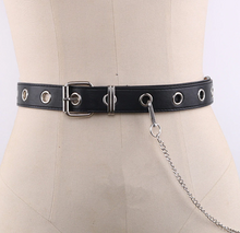 Load image into Gallery viewer, Gothic Metal Chain Belt