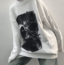 Load image into Gallery viewer, Black Goth Sweater