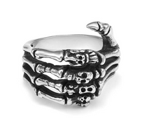Load image into Gallery viewer, Evil Skeleton Ring