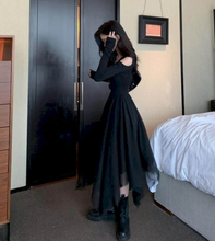 Load image into Gallery viewer, Long Gothic Dress (Plus Size)