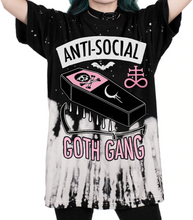Load image into Gallery viewer, Goth Gang Oversize T-shirt