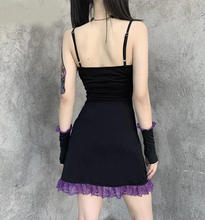 Load image into Gallery viewer, Vintage Bandage Gothic Dress