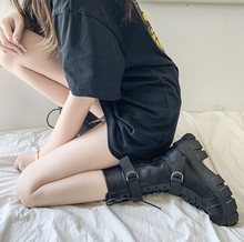 Load image into Gallery viewer, Gothic High Knee Boots