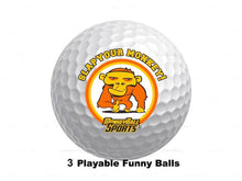 Load image into Gallery viewer, Slap Your Monkey! Golf Club Sock w 3 Free Balls, Decal & Tee