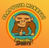 "Load image into Gallery viewer, The Funniest Playable Golf Ball Ever Made; Branded ""Slap Your Monkey!"""
