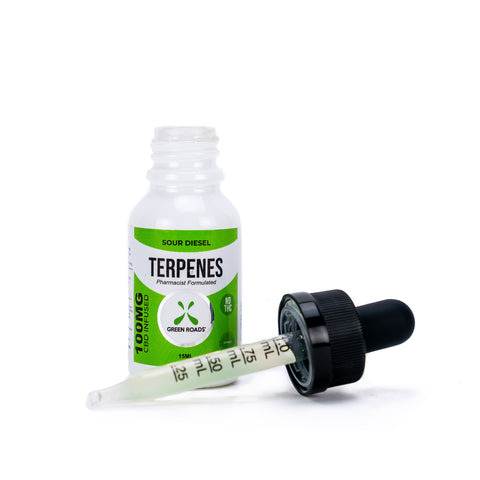 Green Roads 100 MG Sour Diesel Terpenes