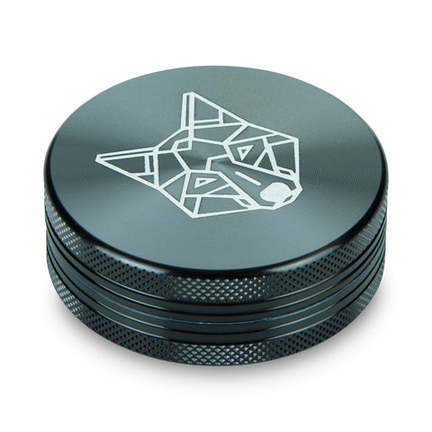 The Wolf 2 Part Medium Pocket Aluminium Grinder