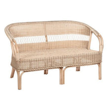 Load image into Gallery viewer, Bahamas Rattan 2 Seater Sofa by Amalfi-2 Seater Sofa-POD Furniture Australia