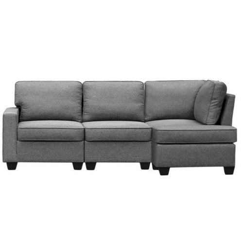 Hatice 3 Seater Right Chaise Lounge by Resort Living-2 Seater Sofa-POD Furniture Australia