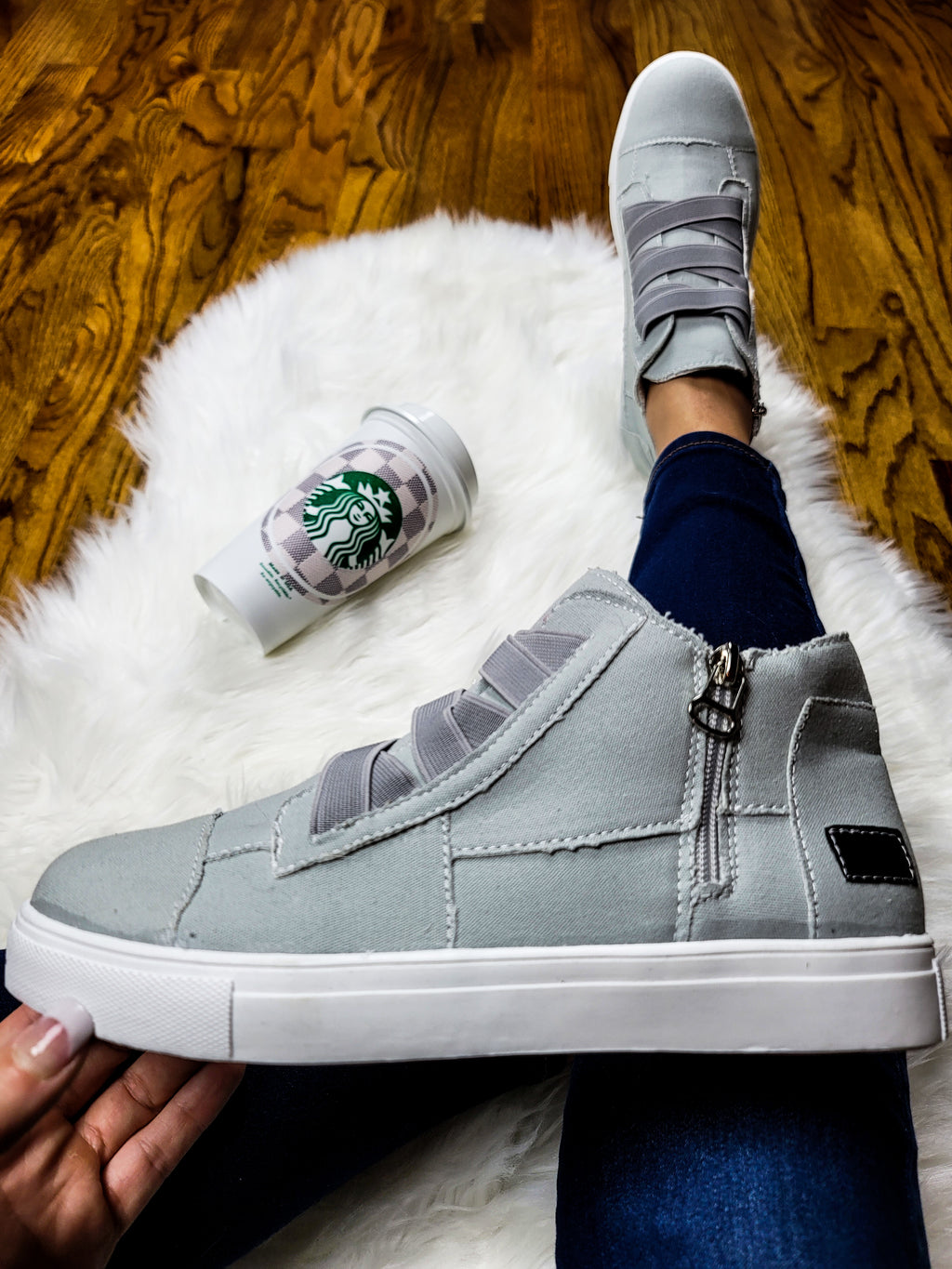 Total Eclipse Gray Sneakers