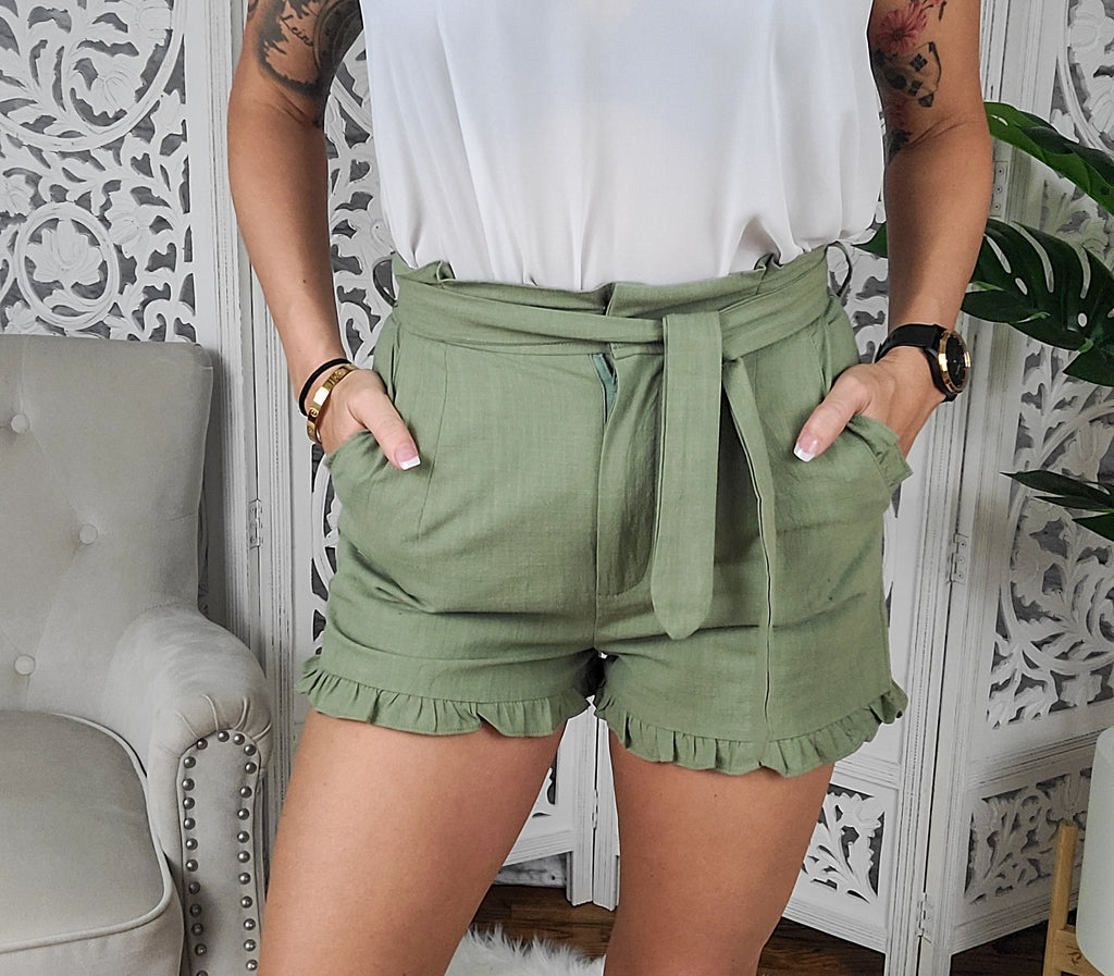 Bright Lights Paperbag Shorts