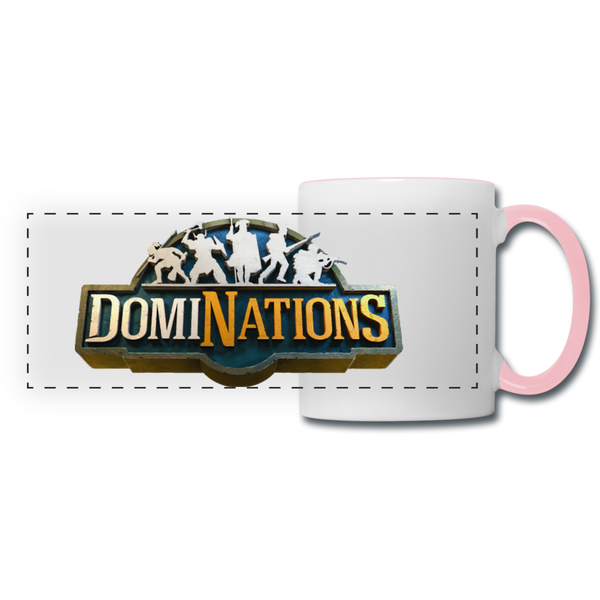 DomiNations Mug - white/pink