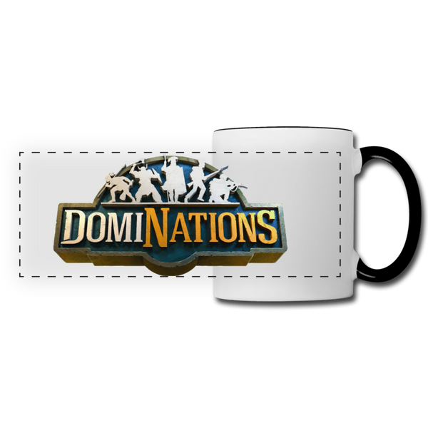 DomiNations Mug - white/black