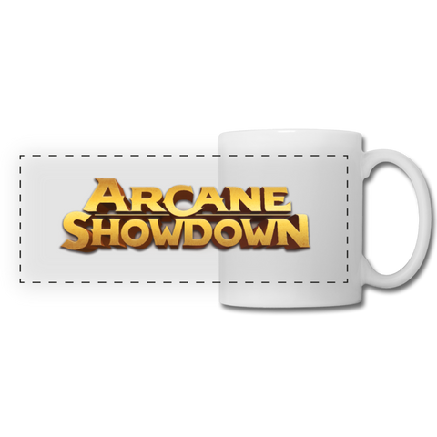 Arcane Showdown Mug - white