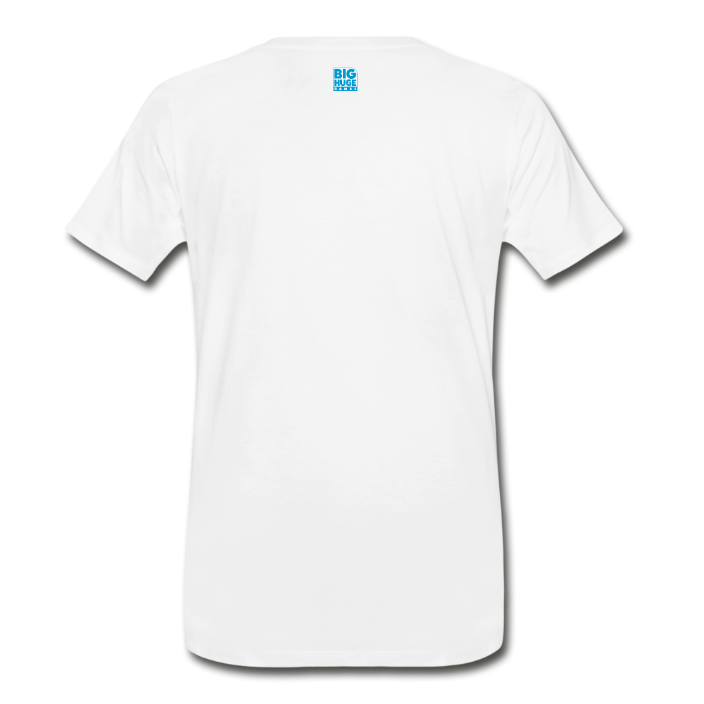 Men's DomiNations Small Logo T-Shirt - white