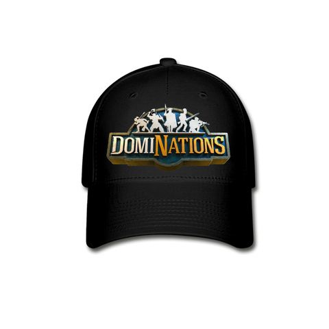 DomiNations Logo Baseball Cap - black