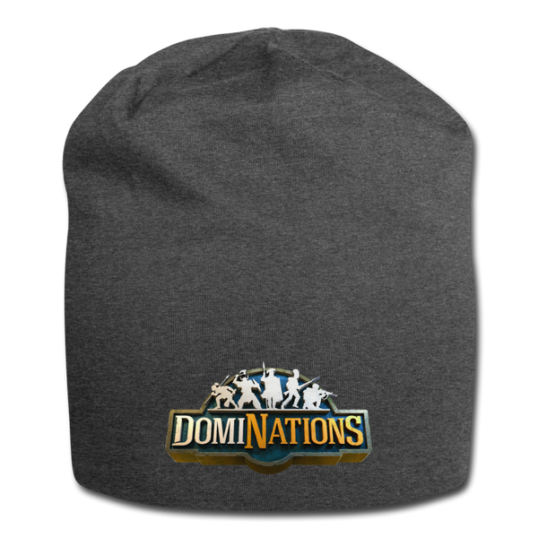 DomiNations Beanie - charcoal gray