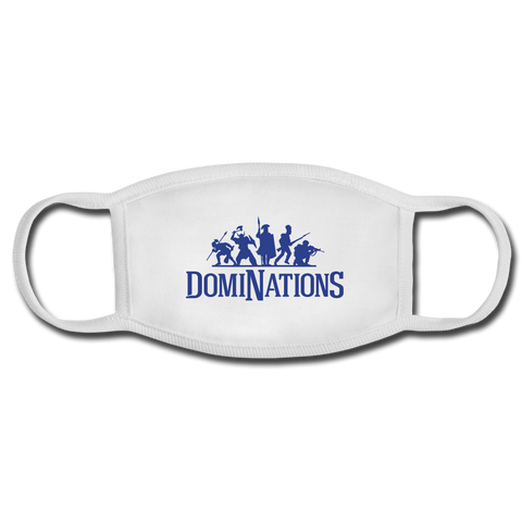 DomiNations Facemask - white/white