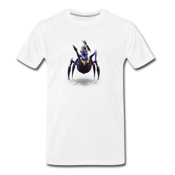 Men's Arcane Showdown Spider Queen T-Shirt - white