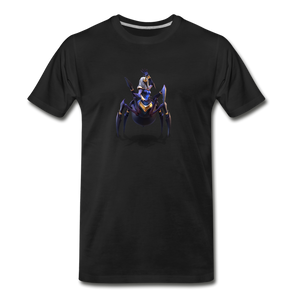 Men's Arcane Showdown Spider Queen T-Shirt - black