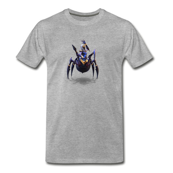 Men's Arcane Showdown Spider Queen T-Shirt - heather gray