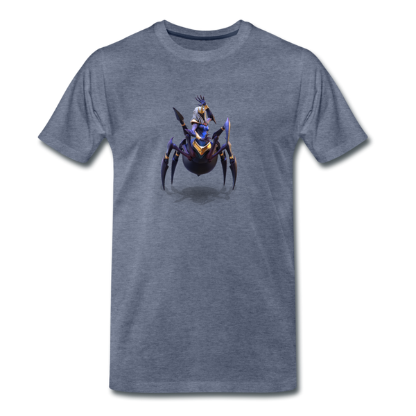 Men's Arcane Showdown Spider Queen T-Shirt - heather blue