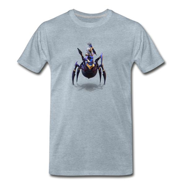 Men's Arcane Showdown Spider Queen T-Shirt - heather ice blue