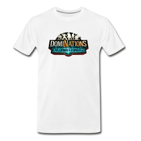 Men's DomiNations Information Age T-Shirt - white