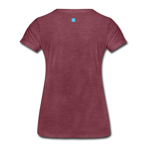 Women's 5 Star DomiNations T-Shirt - heather burgundy
