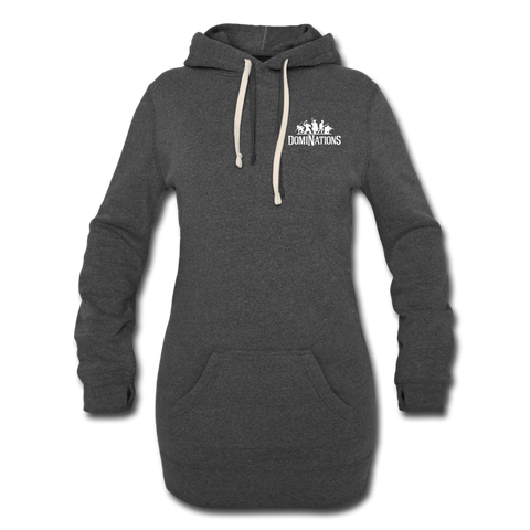 Women's DomiNations Hoodie Dress - heather black