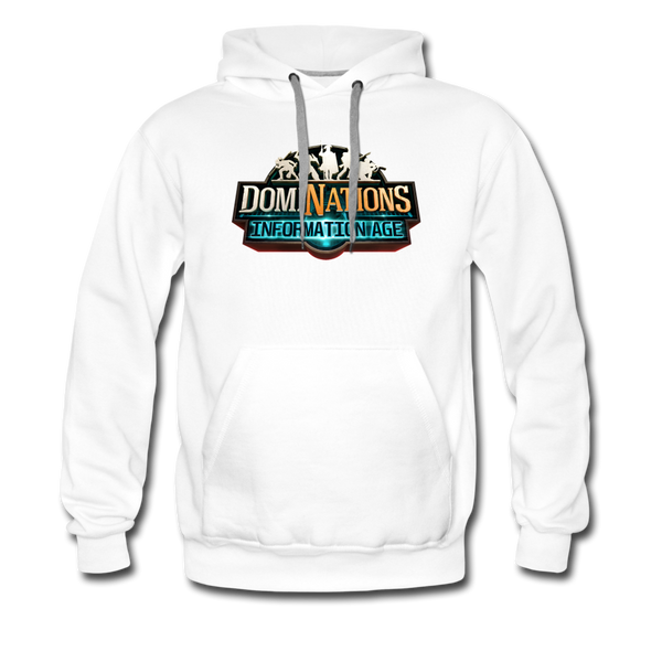 Men's DomiNations Information Age Hoodie - white