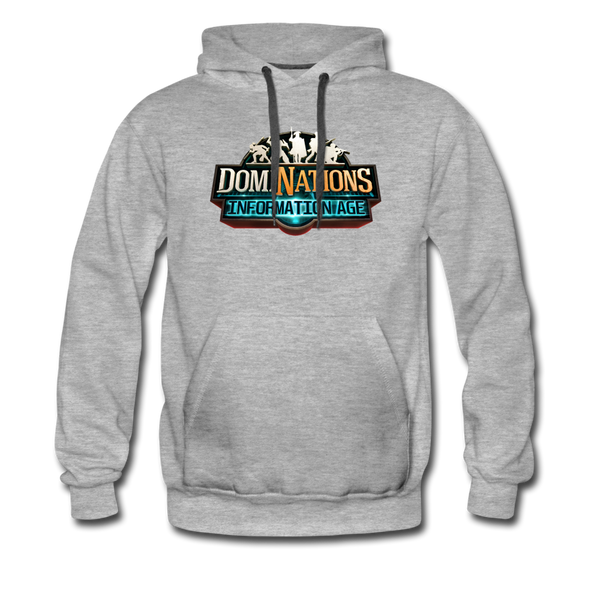 Men's DomiNations Information Age Hoodie - heather gray