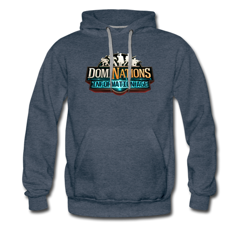 Men's DomiNations Information Age Hoodie - heather denim