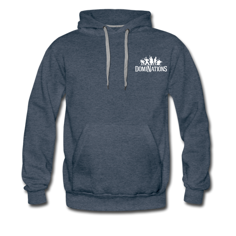 Men's DomiNations Logo Hoodie - heather denim
