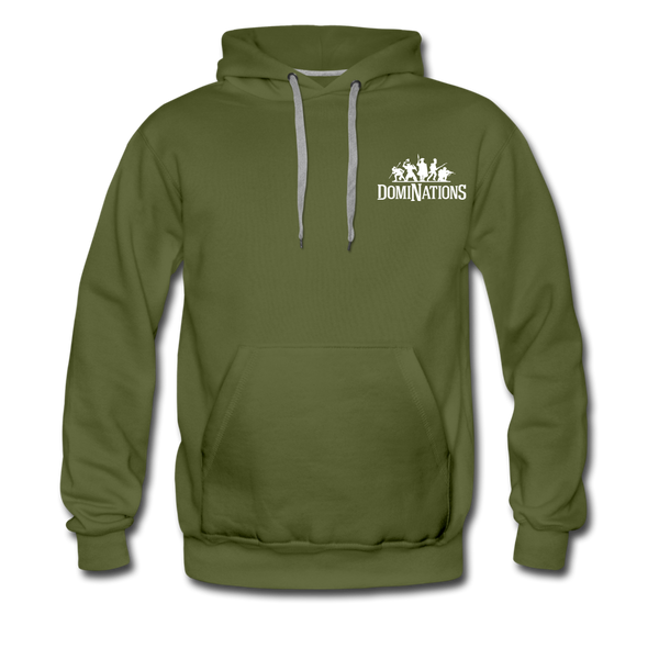Men's DomiNations Logo Hoodie - olive green