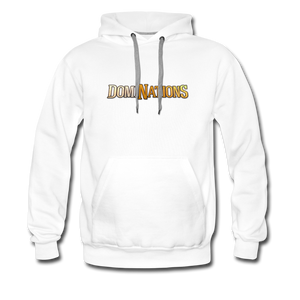 Men's DomiNations Hoodie - white