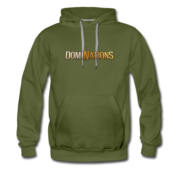 Men's DomiNations Hoodie - olive green