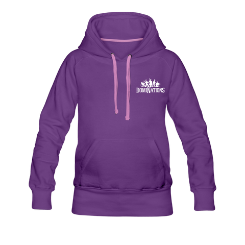 Women's DomiNations Small Logo Hoodie - purple