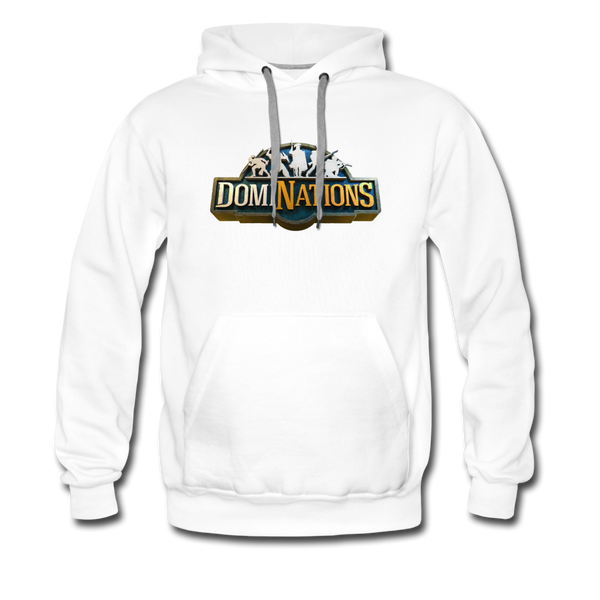 Men's DomiNations Big Logo Hoodie - white