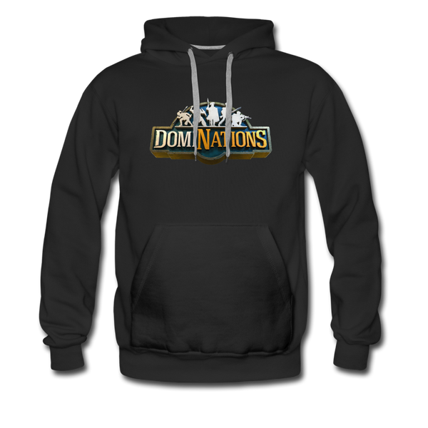 Men's DomiNations Big Logo Hoodie - black