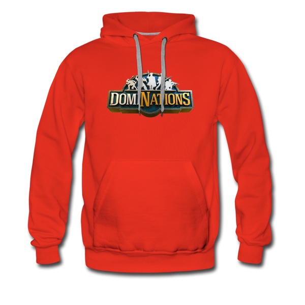 Men's DomiNations Big Logo Hoodie - red