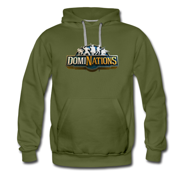 Men's DomiNations Big Logo Hoodie - olive green