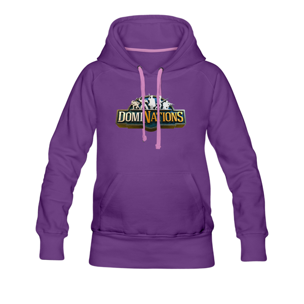 Women's DomiNations Big Logo Hoodie - purple