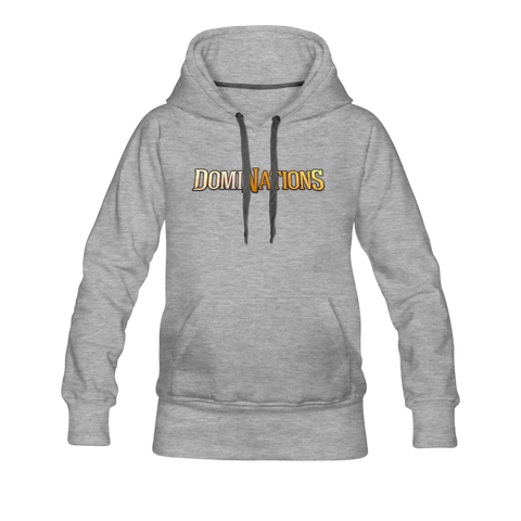 Women's DomiNations Hoodie - heather gray