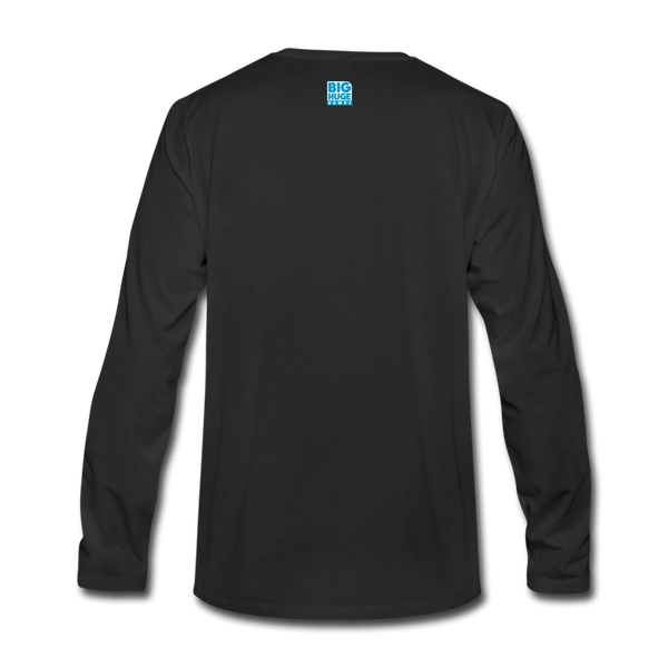 Men's Arcane Showdown Logo Long Sleeve T-Shirt - black