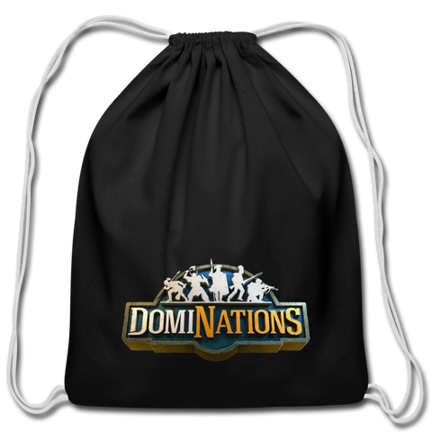 DomiNations Drawstring Bag - black