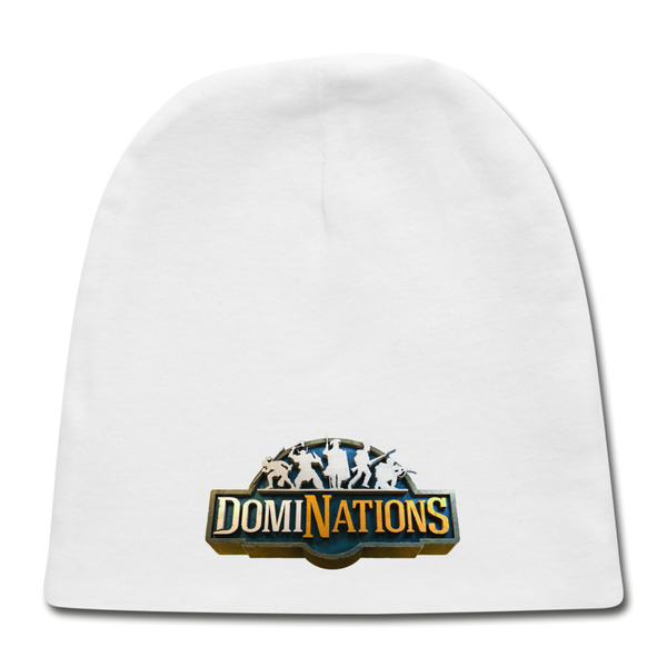 DomiNations Baby Cap - white