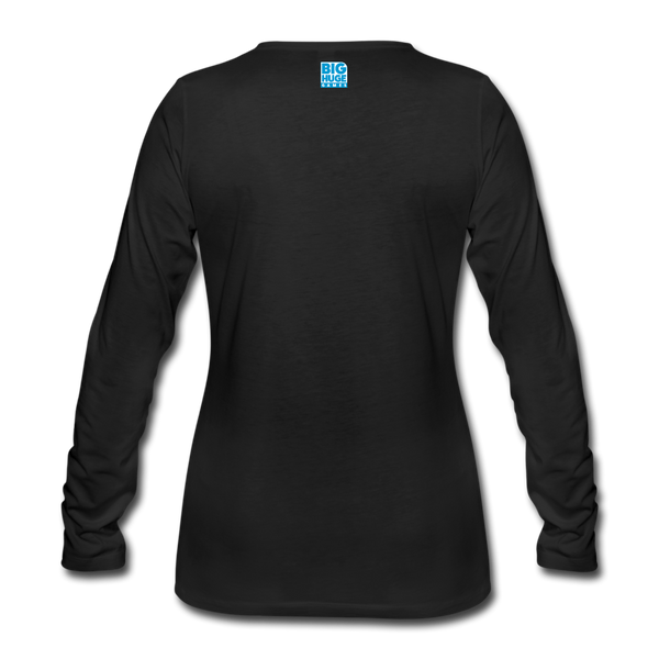 Women's Arcane Showdown Logo Long Sleeve T-Shirt - black